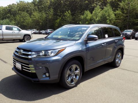 New Toyota Highlander Limited Platinum AWD V6