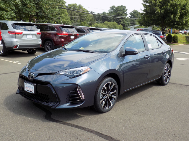 New 2017 Toyota Corolla S Plus Automatic 4d Sedan In