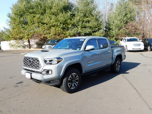 New 2020 Toyota Tacoma TRD Sport Double Cab 4x4 V6 Short Bed