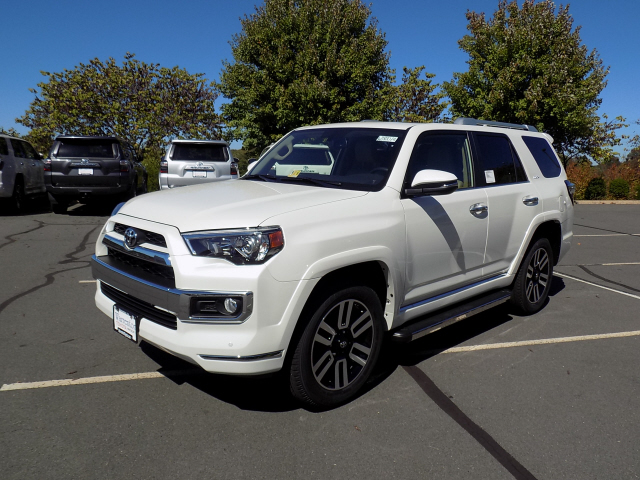 new 2018 toyota 4runner 4x4 limited v6 4d sport utility in warrenton w180074 warrenton toyota. Black Bedroom Furniture Sets. Home Design Ideas