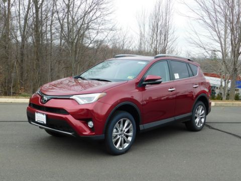 New 2018 Toyota RAV4 Limited AWD
