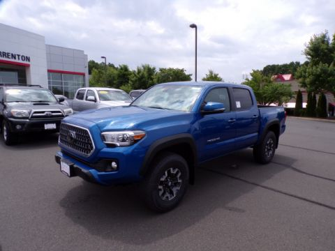 New 2018 Toyota Tacoma TRD Off Road Double Cab 4x4 V6 Short Bed Automatic