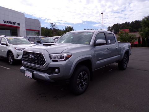 New 2018 Toyota Tacoma TRD Sport Double Cab 4x4 V6 Long Bed