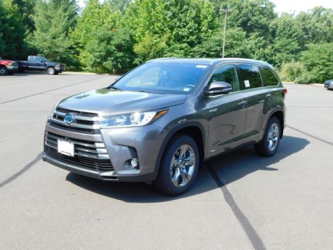 New 2019 Toyota Highlander Hybrid Limited Platinum AWD