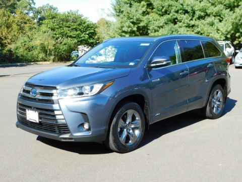 Certified Pre-Owned 2019 Toyota Highlander Hybrid Limited Platinum
