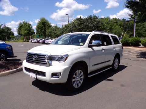 New 2018 Toyota Sequoia Platinum 4WD 7 Psgr