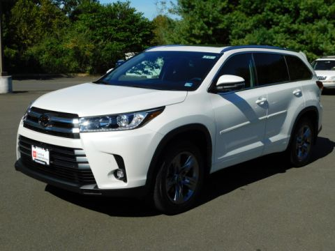 Certified Pre-Owned 2019 Toyota Highlander Limited Platinum