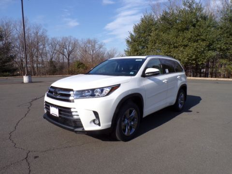 New 2019 Toyota Highlander Limited Platinum AWD V6