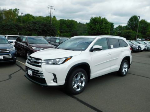 New 2019 Toyota Highlander Limited AWD V6