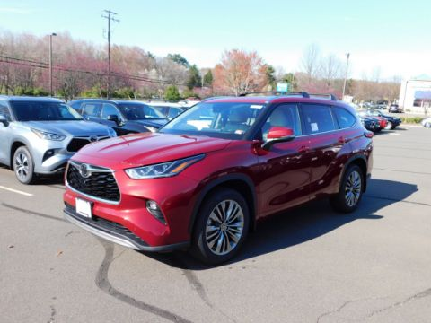 New 2020 Toyota Highlander Platinum AWD