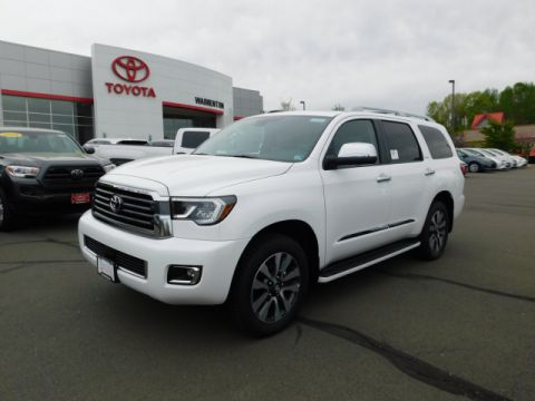 New 2019 Toyota Sequoia Limited 4WD 8 Psrg