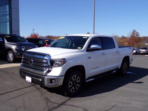 New 2018 Toyota Tundra Limited Crew Max 5.7L V8 Short Bed
